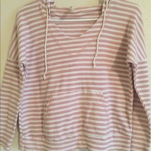 Pink boutique hoodie shirt Blouse